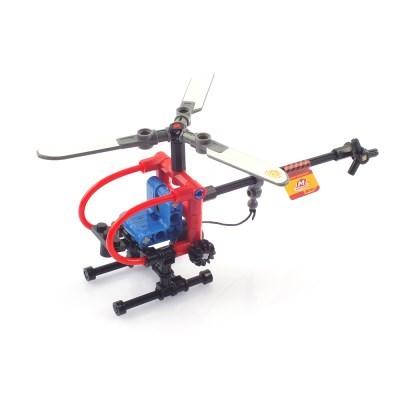 블럭테크닉 미니 레스큐 구조 헬리콥터 블록 65pcs