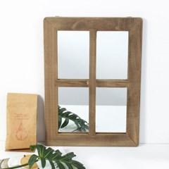 클라라 빈티지 창문형 벽걸이 거울