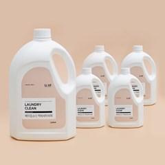 리릿 베이킹소다 액체세탁세제 2.5L X 5개 저자극 중성