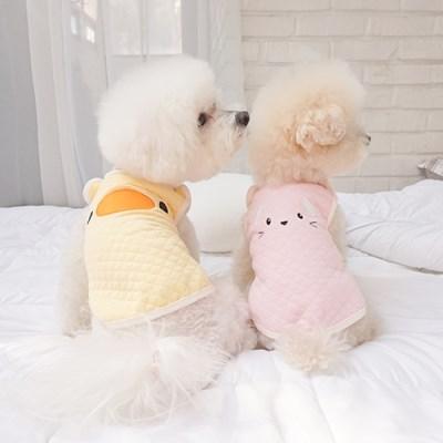 동물티셔츠 강아지동물옷 코스튬 애니멀누빔 베스트_(1314052)