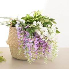 휘스테리아가지 95cm 조화 꽃 인테리어 장식 FAIAFT
