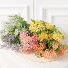 클로버안개부쉬 35cm 조화 꽃 인테리어 장식 FAIAFT