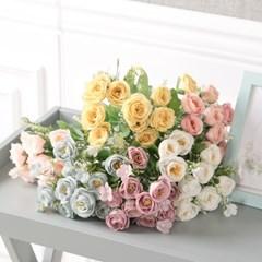 씨드로즈부쉬 30cm 조화 꽃 인테리어 장식 FAIAFT