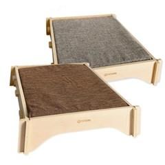 두리뭉실 강아지 고양이 원목 침대 쿠션 방석 포근
