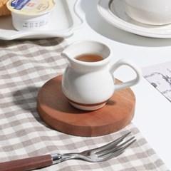 데이 우드 코스터 컵받침 오브제 원형 / 카페 소품_(1820122)