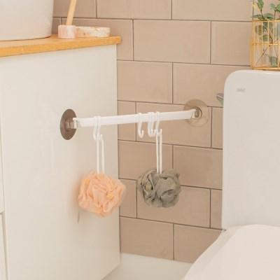 욕실용품 다용도 샤워볼 수건걸이 BI-5711 로이드_(3321613)