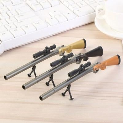 스나이퍼 저격총 밀리터리 게임 kar98k 총 모양 파란색 펜(랜덤발송)