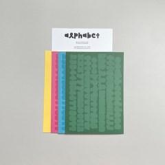 [프롬하오팅] 알파벳&숫자 스티커