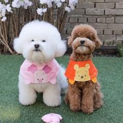 디즈니 캐릭터 곰돌이 푸 피글렛 강아지 케이프