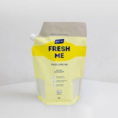 바잇미 살균 소취제 fresh me (프레시미) 대용량 리필 2L
