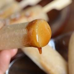 [국내산 유기농 쌀로 만든] 현미가래떡 1kg_(1058489)