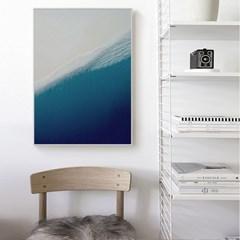 바다 포스터 인테리어 액자 _White Beach
