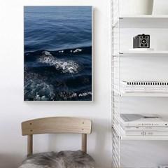 바다 포스터 인테리어 액자 _Blue Wave