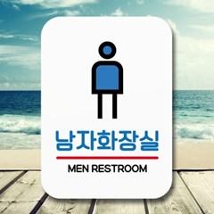 안내표지판 푯말 사인(Q2)_119_네모 남자화장실_(1470657)
