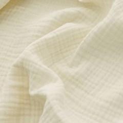 [Fabric] 피그먼트 바이오워싱 거즈 3중지 내추럴