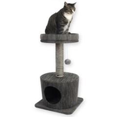 고양이 휴식처 직조펫타워 스크레쳐 원단 2단타워