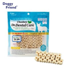 강아지 입냄새 먹는 양치 칼슘 100g 치아 관리 애견