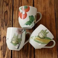 토토로 노리타케 머그컵 (야채/3design)