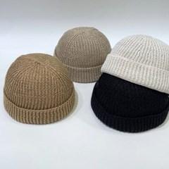 니트 기본 데일리 꾸안꾸 패션 와치캡 비니 모자