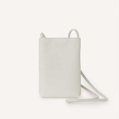 Plain Pocket Bag / Light gray
