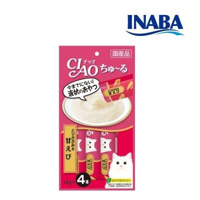 이나바 챠오츄르 닭가슴살&새우 [SC-142]