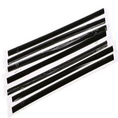 개별포장 일자 빨대 0.7x21cm 블랙 500개