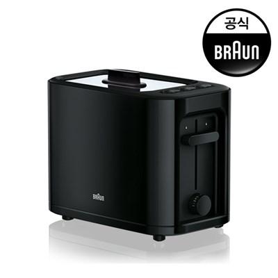[브라운] 콤팩트 토스터기 HT3005BK
