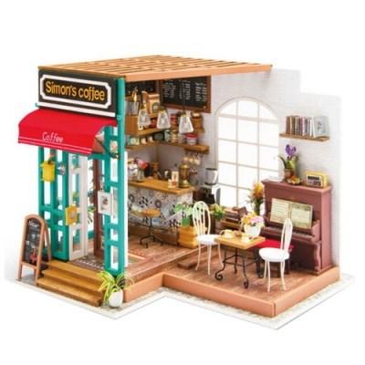 DIY 미니어처 하우스(난이도 중'상)-DG109_커피숍