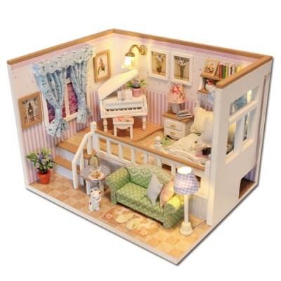 DIY 미니어처 하우스 (난이도 중) -M026_반층 피아노