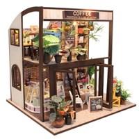 DIY 미니어처 하우스 (난이도 상) -M027_로맨틱 커피숍