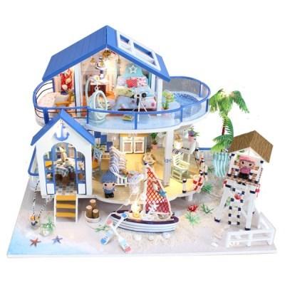 DIY 미니어처 하우스(난이도 상) -13844_해변의 집