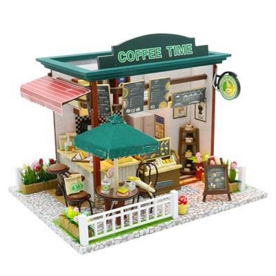 DIY 미니어처 하우스 (난이도 중.상) -C006_커피타임