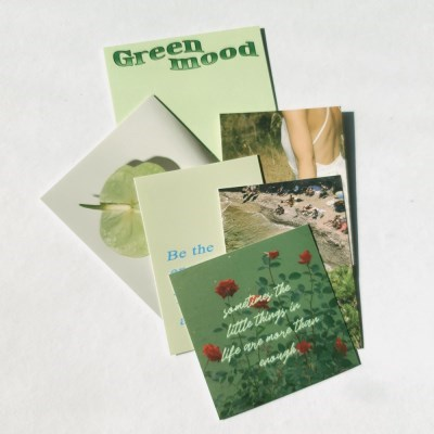 green mood 리무버블 스티커팩