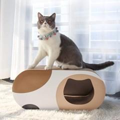 에코펫위드 고양이스크래쳐 고양이숨숨집 양면스크래쳐
