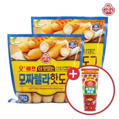 [오뚜기] 오쉐프_더 맛있는 모짜렐라 핫도그 (20개입)+_(10795992)
