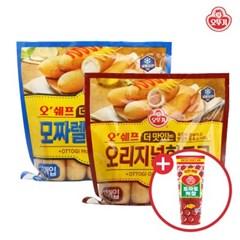 [오뚜기] 오쉐프 더 맛있는 핫도그 2종 각 1봉씩 (오리_(10795991)