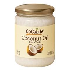 코코라이프 엑스트라버진 비정제 코코넛오일 500ml 1개