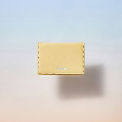 [21SS] FENNEC SOFT CARD CASE - TINT YELLOW
