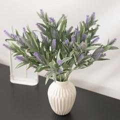 심플라벤더가지 45cm 조화 꽃 인테리어 장식 FAIAFT