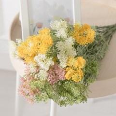 펀썸바디부쉬 40cm 조화 꽃 인테리어 장식 FAIAFT