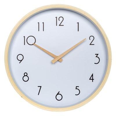 아날로그 리얼우드 무소음 나무 벽걸이 시계 GW004-AR