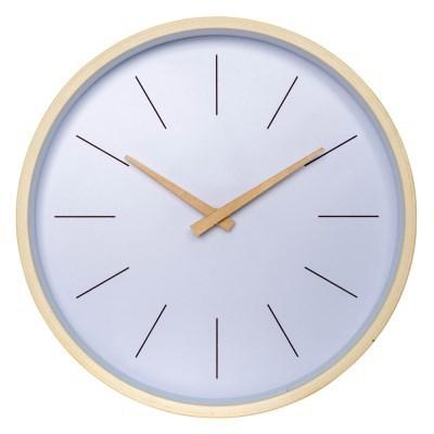 아날로그 리얼우드 무소음 나무 벽걸이 시계 GW004-IN