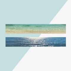 [엉꺄도] 바다 마스킹테이프 2종