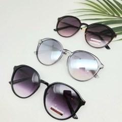 블랙 가벼운 도수없는 호피 데일리 패션 선글라스