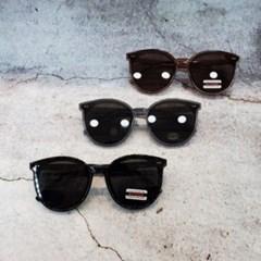 둥근 심플 가벼운 도수없는 데일리 패션 선글라스