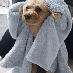 초극세사 고양이 강아지 목욕 드라이 타올 수건