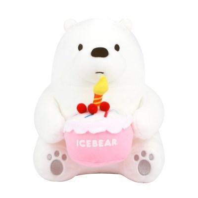 위베어베어스 시팅 케이크 아이스베어-25cm_(100949769)