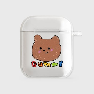 crayon gummy [clear 에어팟케이스]_(1014850)