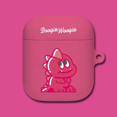 에어팟/에어팟프로 케이스 - 디노 핑크(Dino Pink)