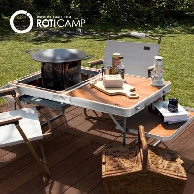 로티캠프 접이식 그릴윙 테이블